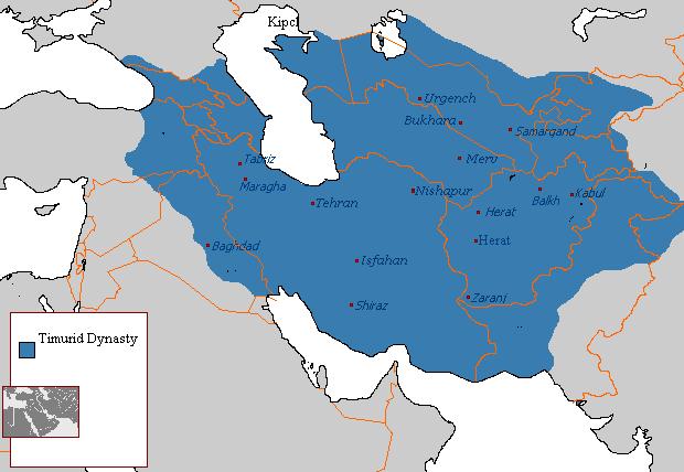 Империя Тимуридов (1370-1422 г.)