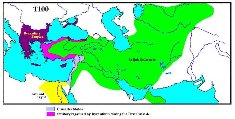 Империя Сельджукидов, 1100