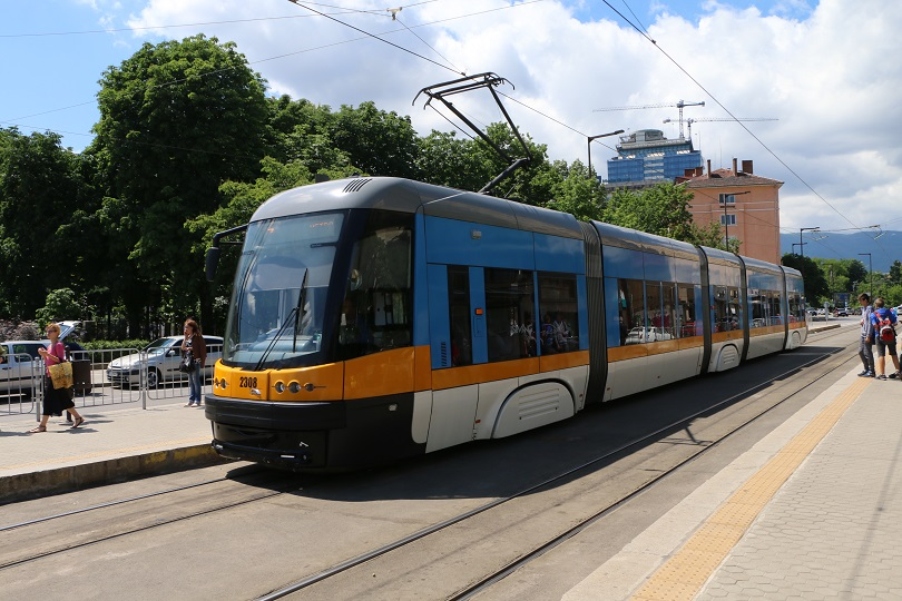 Sofia, modern tram
