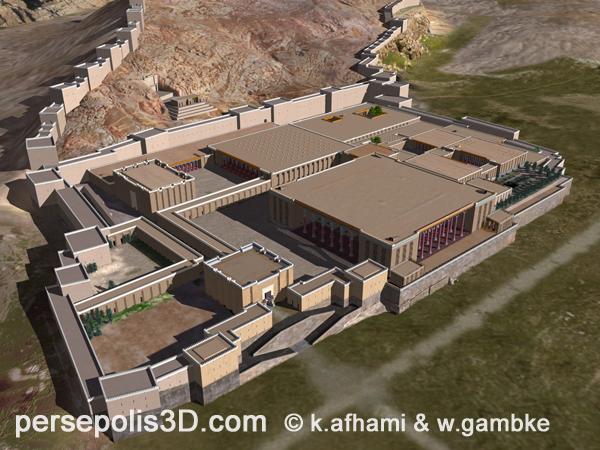 3D рекоеструкция Персеполя