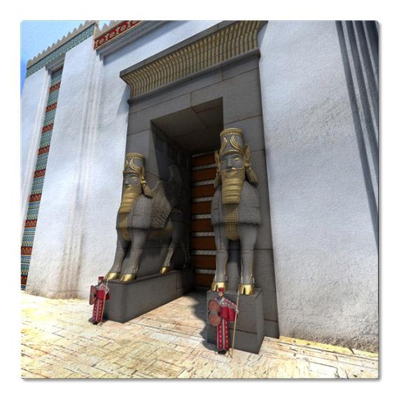 3D реконструкция, Ворота Всех Народов