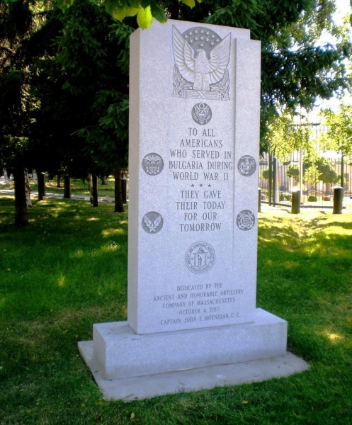 Monument of american pilots
