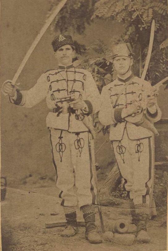 Воины из Первой болгарской легии