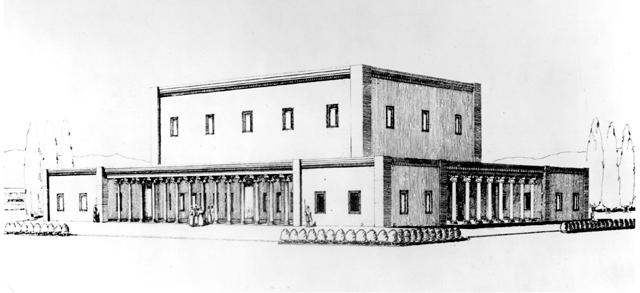 Жилой дворец в Пасаргадах