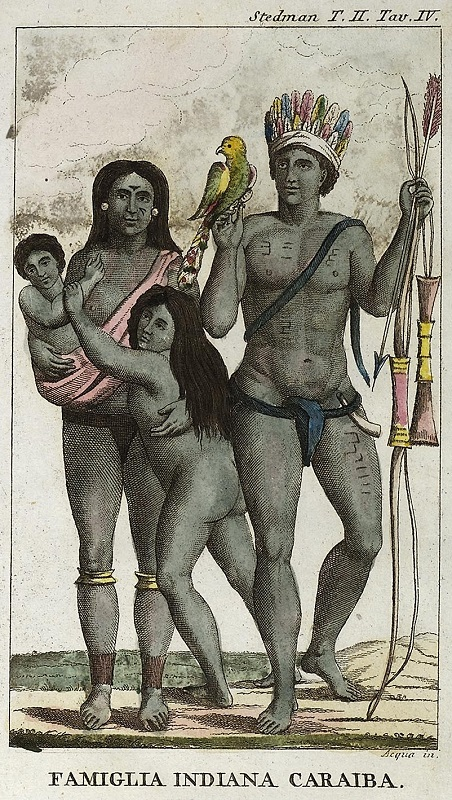 Carib_indian_family
