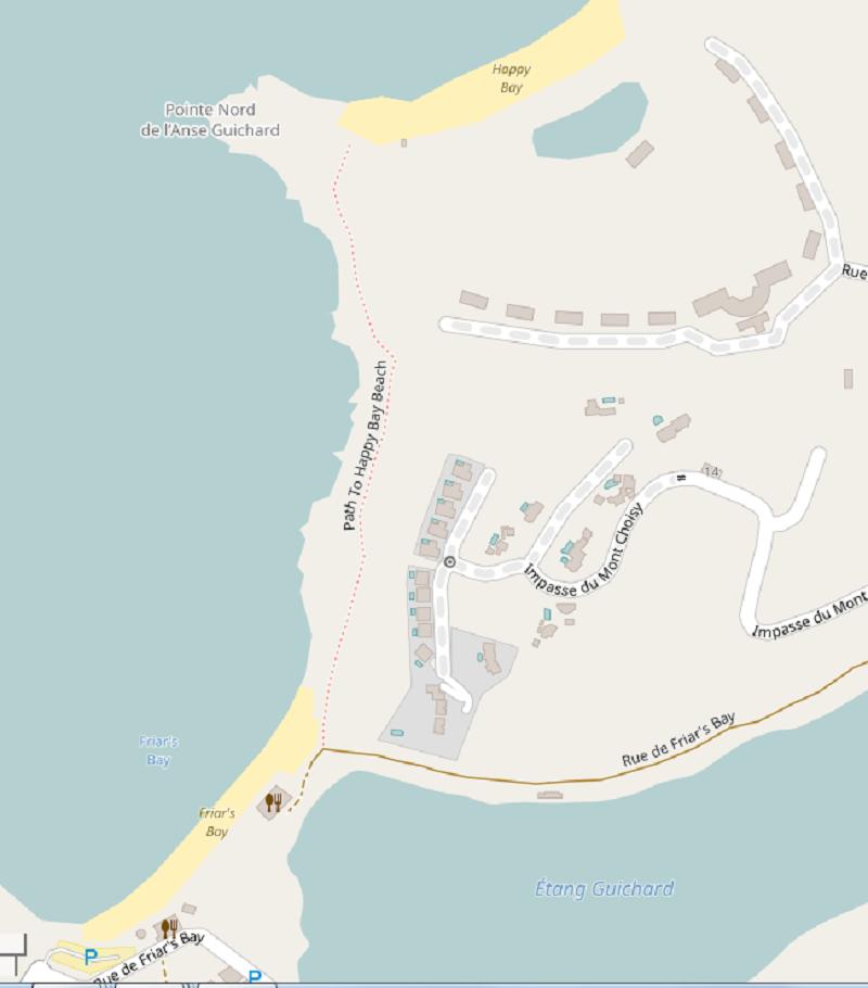Path-to-Happy-Bay-Beach-St-Martin
