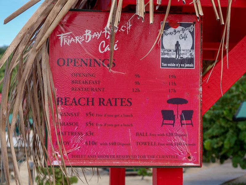 Saint Martin Island, Frair`s Bay Beach