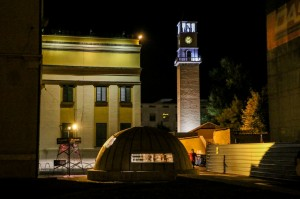 Tirana Night, Bunkart 2 Museum and Clock Tower