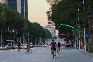 Tirana traffic lights