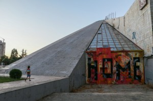 Tirana, Enver Hoxha Pyramid
