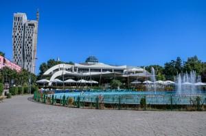 Albania, Tirana, Rinia Park