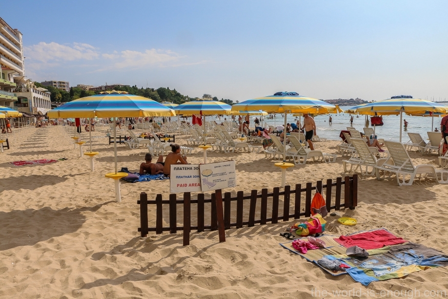 Южноый пляж Несебра