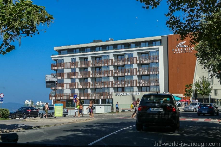 Aparthotet Paradiso, Nessebar