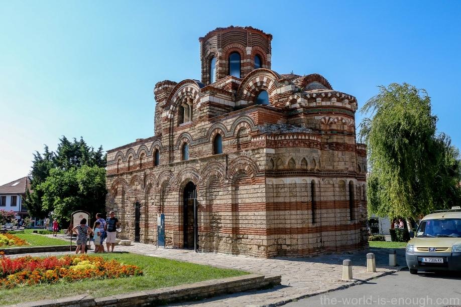 Несебр, базилика Христос Пантакратор