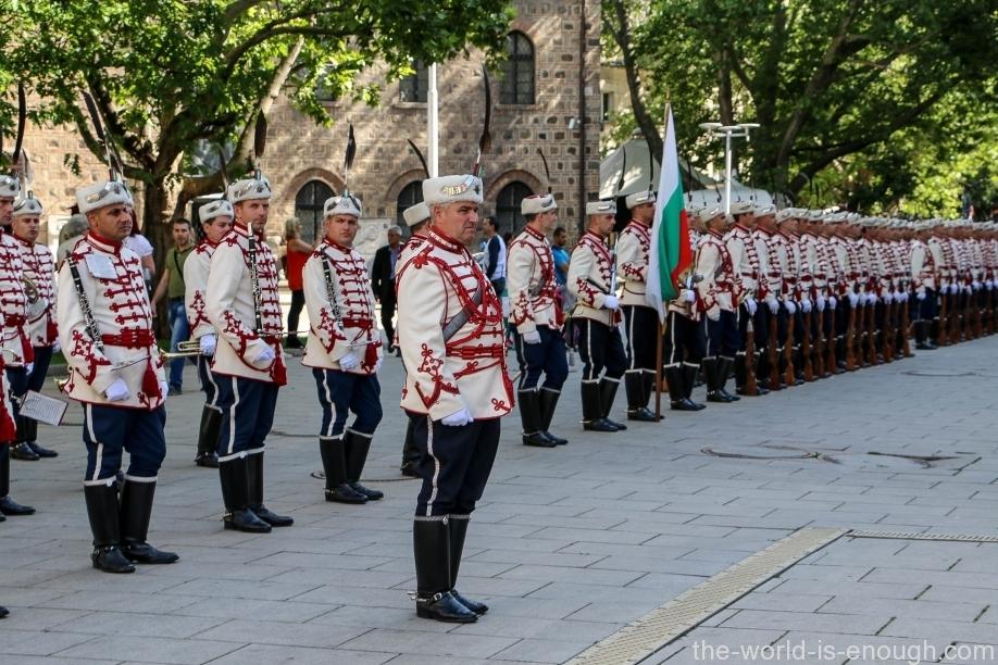 Почетный караул в Софии