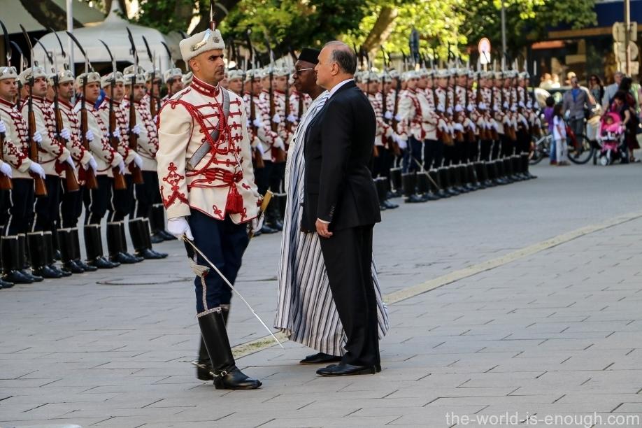 Офицер почетного караула, София
