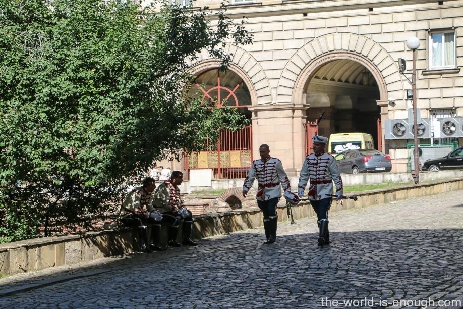 Музыканты-гвардейцы, София