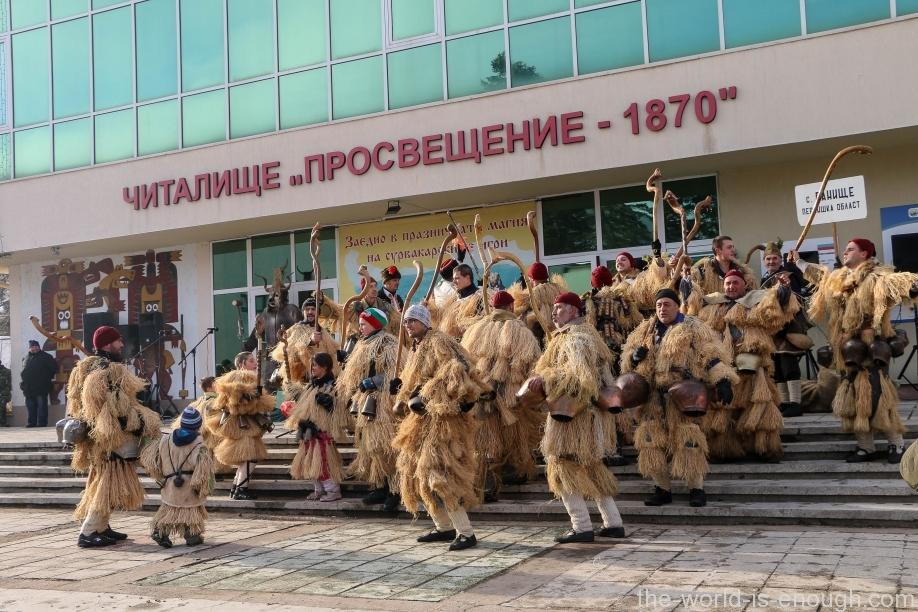 Брезник Сурва 2017 Кукерски игри