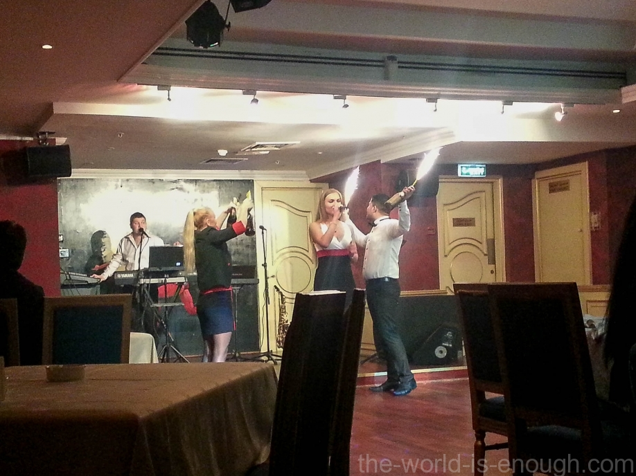 Bolshoi restaraunt Dubai Moscow Hotel