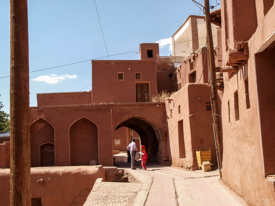 Иран, деревня Абьяни, fire temple Abyaneh village