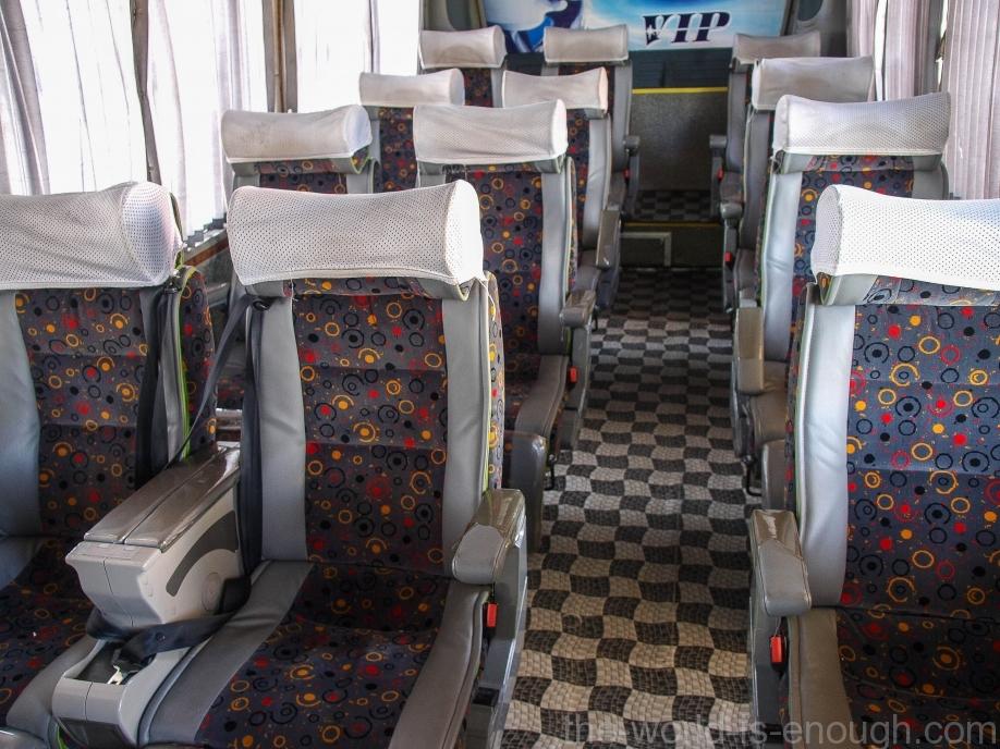 Иранские междугородные VIP автобусы