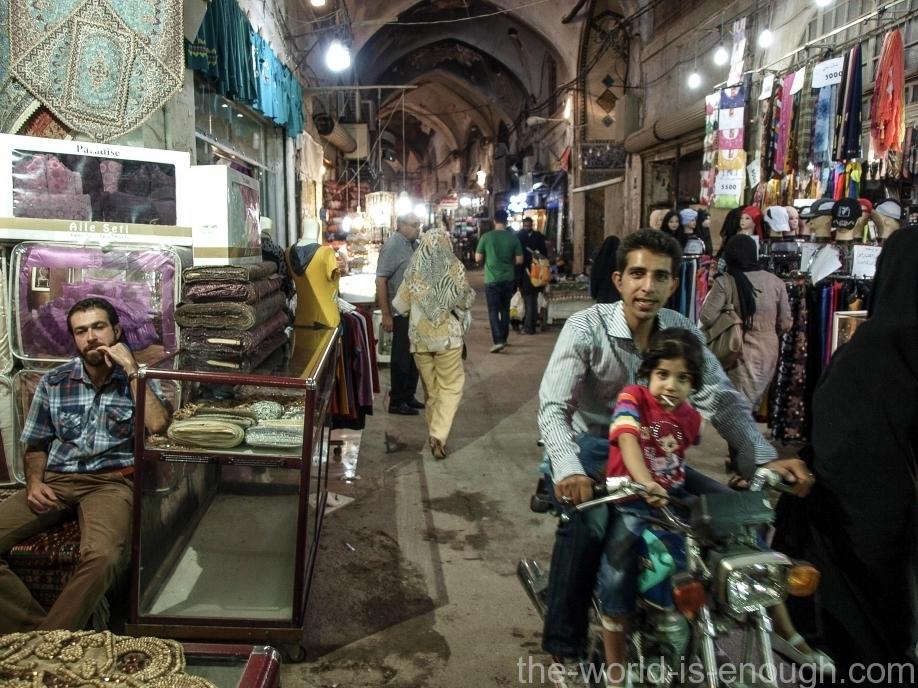 исфаханский базар Гейсарие.