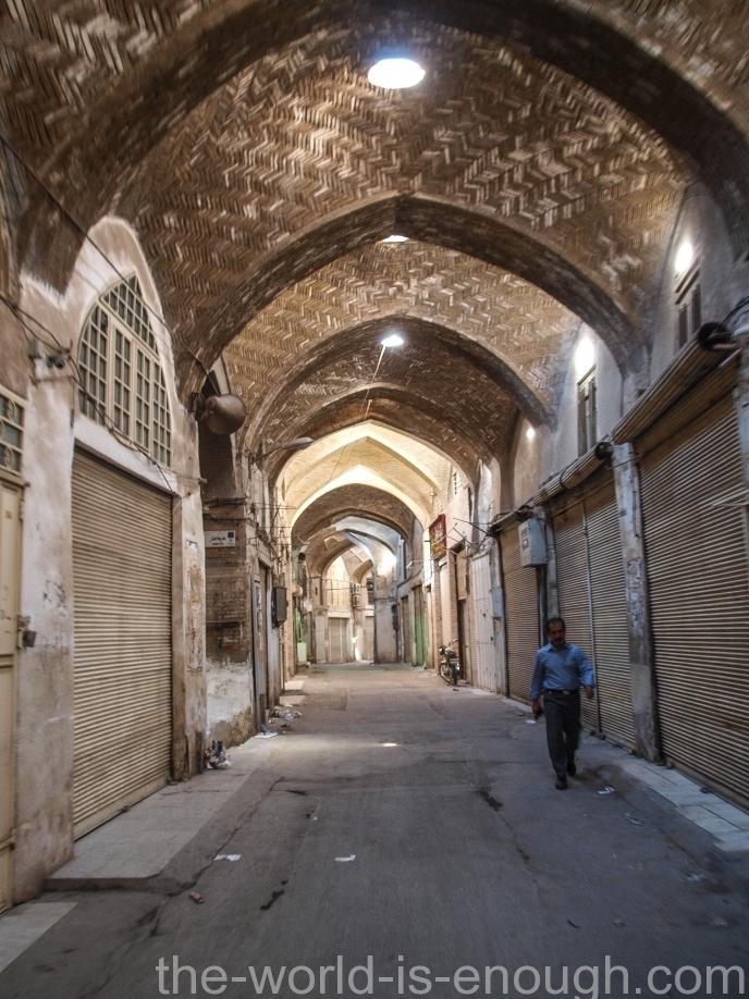 После закрытия, базар Гейсарие, Исфахан