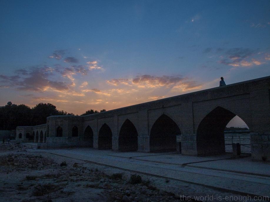 Исфахан, мост Джуи