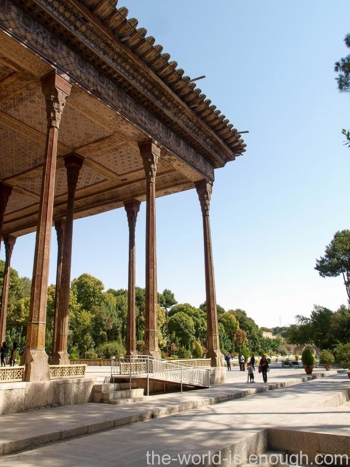 Дворец Чехель Сотун, Исфахан