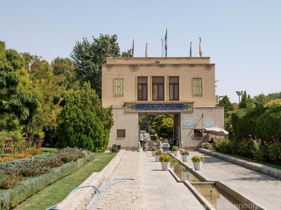 Вход в Сад Цветов, Исфахан