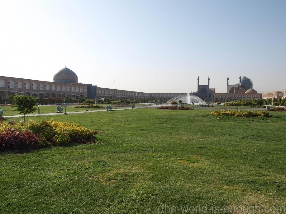 Площадь Нагше Джахан, Исфахан
