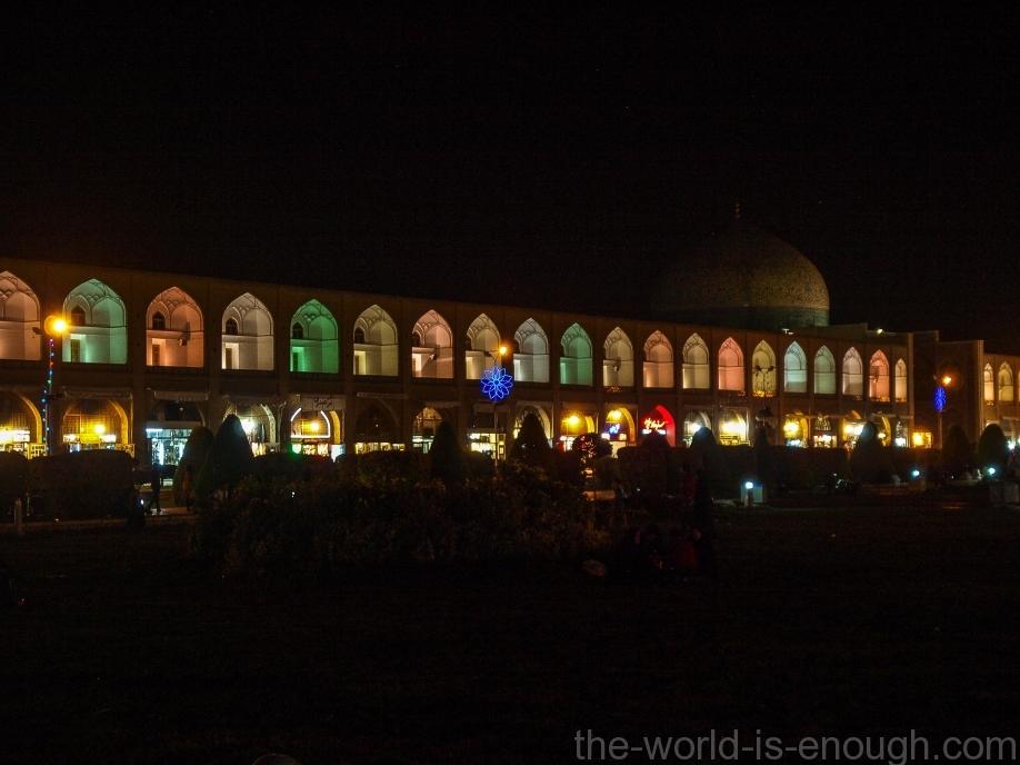 Торговые галереи площади Имама, Исфахан