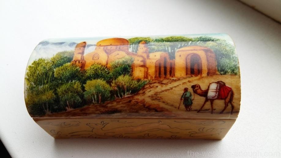 Шкатулка из верблюжей кости, Иран