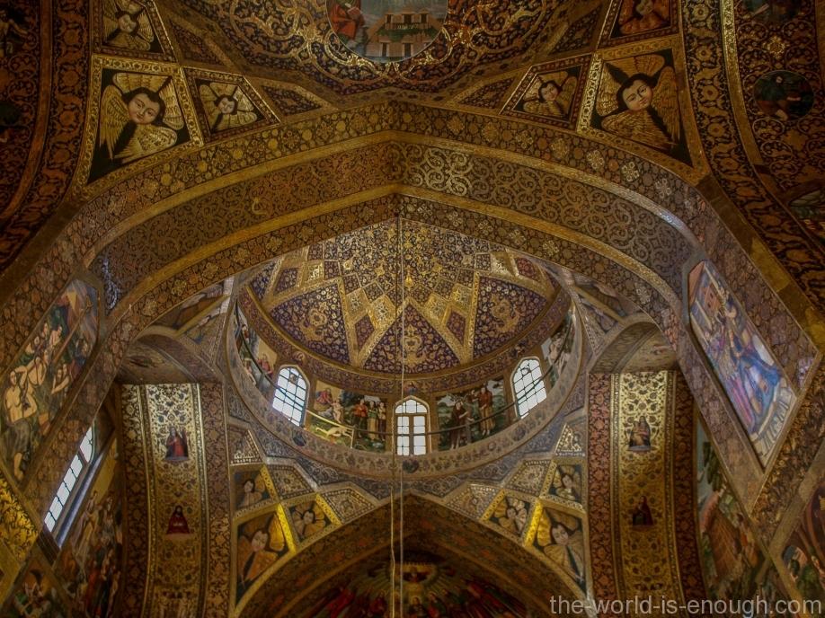 Интерьер Ванкского собора, Исфахан