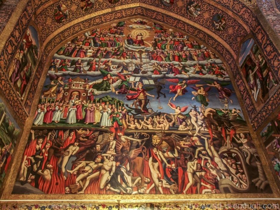 армянская Церковь Ванк в Исфахане, Иран