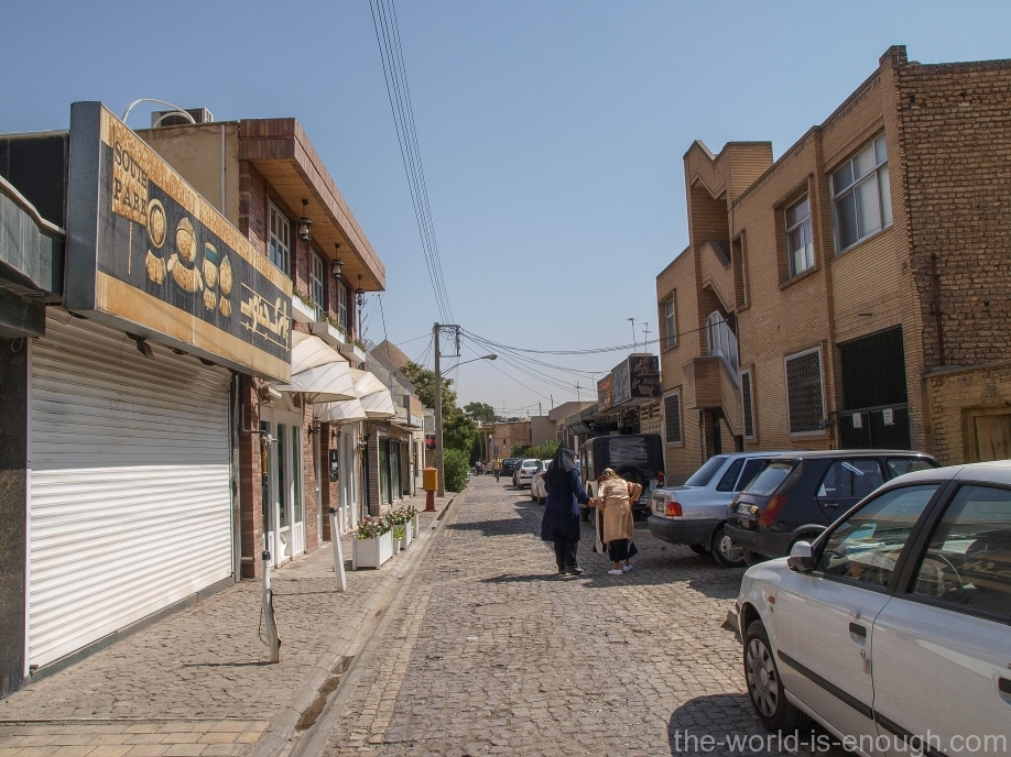 Улицы Новой Джульфы