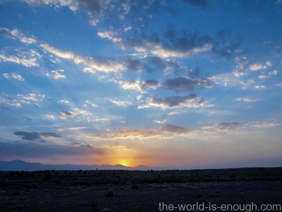 Пустыня Маранджаб, Maranjab desert Закат в пустыне