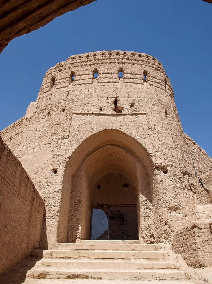 Крепость Нарин, Мейбод, Иран