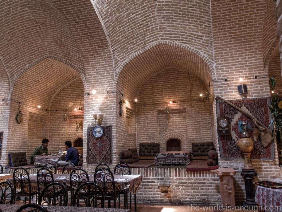 Ресторан караван-сарая Шаха Аббаса
