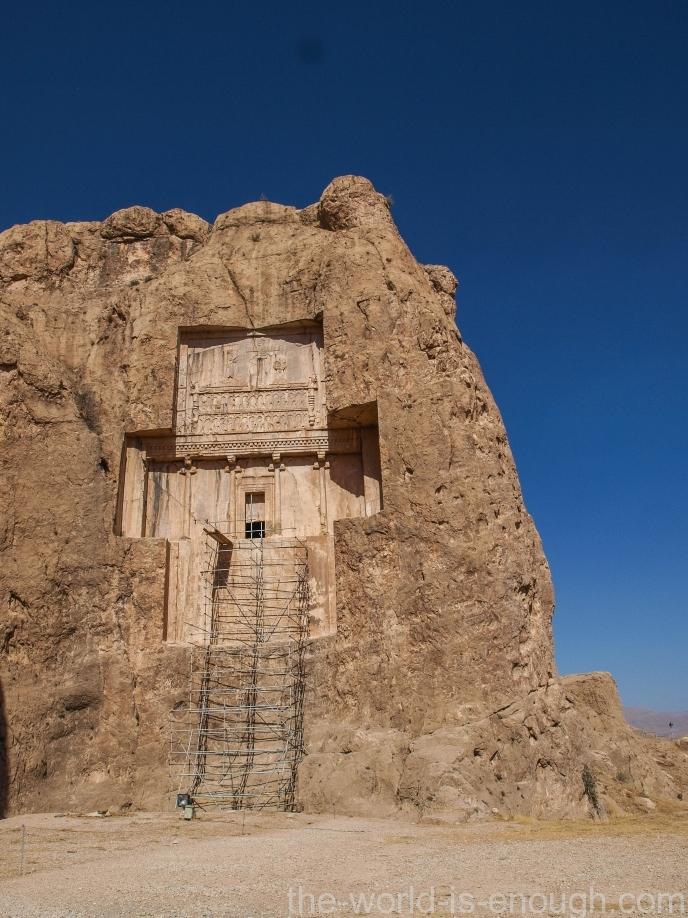 Гробница Ксеркса, Накше-Рустам