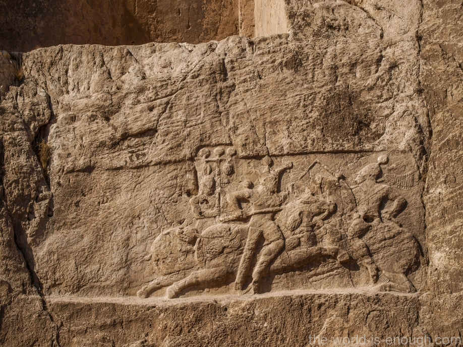 Накше-Рустам, Кавалеристская победа Баграма II