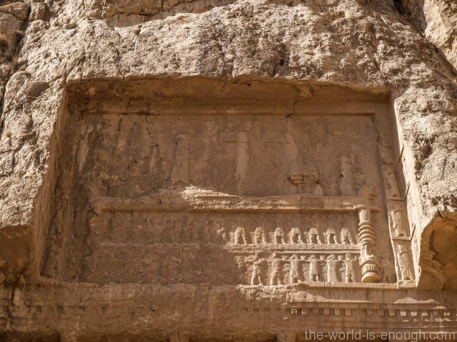 Накше-Рустам, Гробница Дария II