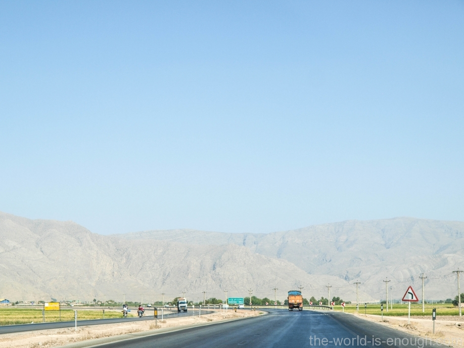 Дорога на Пасаргады, Иран