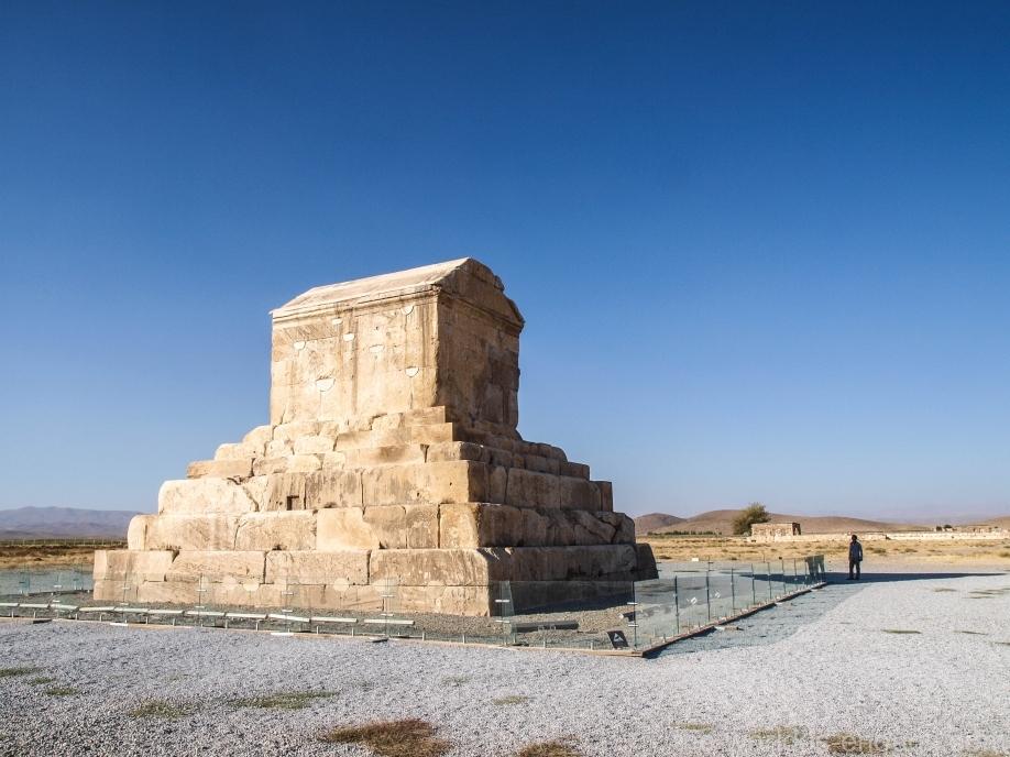 Мавзолей Кира Великого, Пасаргады