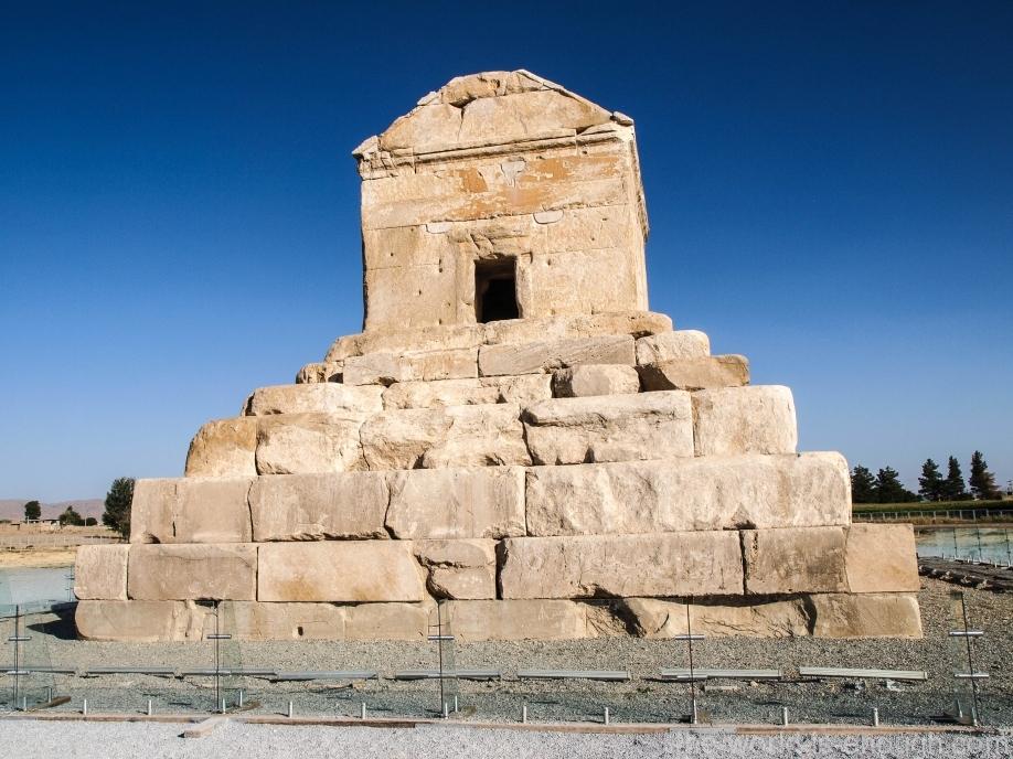 Мавзолей Кира, Пасаргады