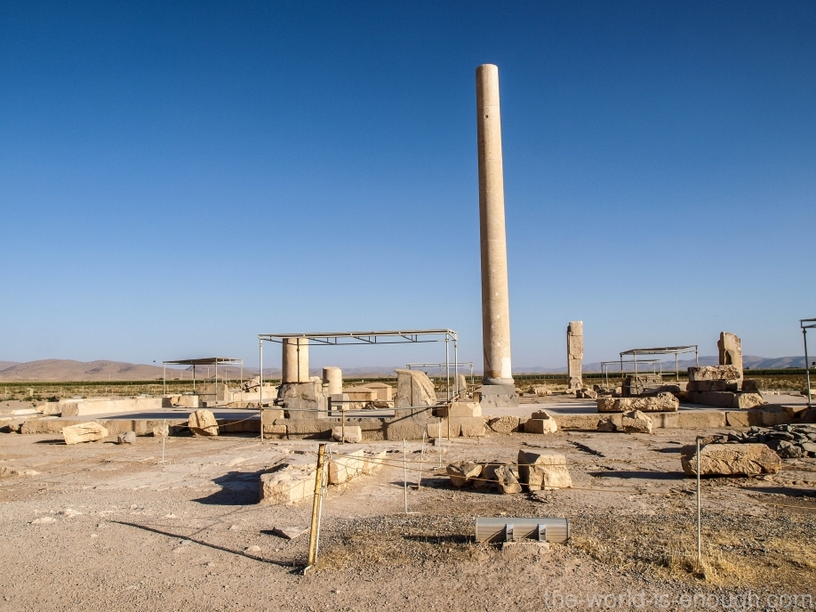 дворец приемов Кира, Пасаргады