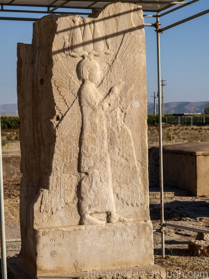 Херувим ворот Пасаргад