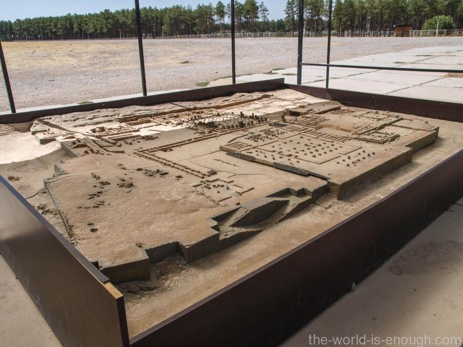 Макет руин Персеполя