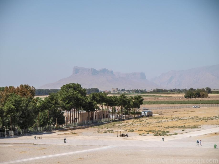 Вид с платформы Персеполя