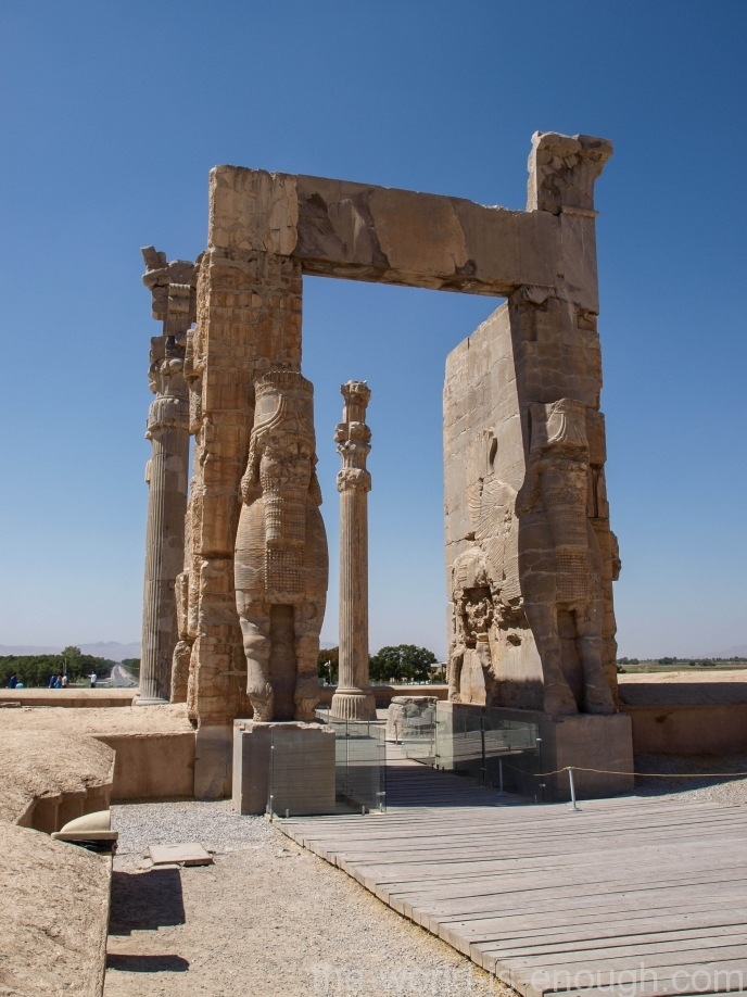 Персеполь, восточноый вход Ворот Всех Наций